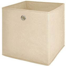 Box de rangement feutrine Beige