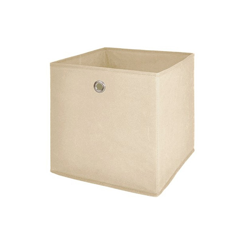 box de rangement feutrine beige. Black Bedroom Furniture Sets. Home Design Ideas