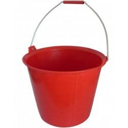 Seau de maçon Pro 13L rouge
