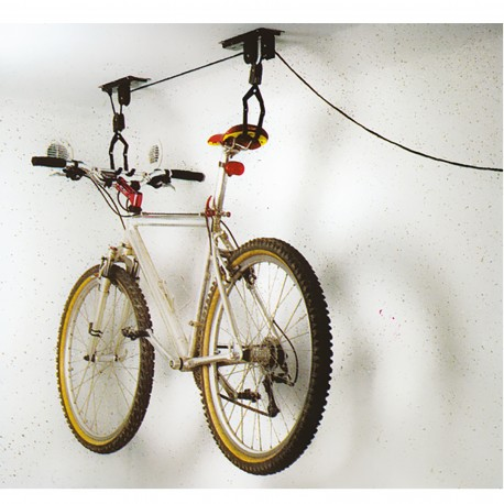 Lève-vélo au plafond