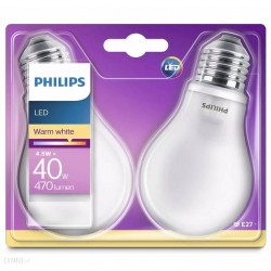 2 Ampoules LED PHILIPS Exact look ~40W