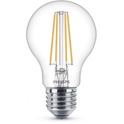 Ampoule Poire LED PHILIPS Claire ~60W WW ND