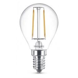 Ampoule boule LED PHILIPS Claire E14 ~25W