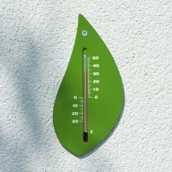 """Thermomètre extérieur mural """"Feuille"""""""