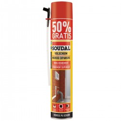 SOUDAL Mousse polyuréthane expensive 750ml