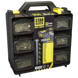 STARBLOCK coffret 1350 vis bois
