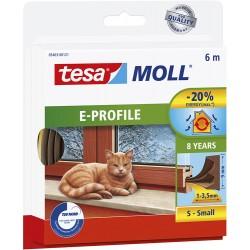 Bourrelet TESA Moll 'E' 6m Brun