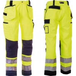 Pantalon HEROCK Styx jaune fluo