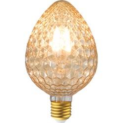 Ampoule LED E27 oeuf verre déco