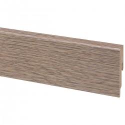 Plinthe revêtue 2m40 Chêne rustique