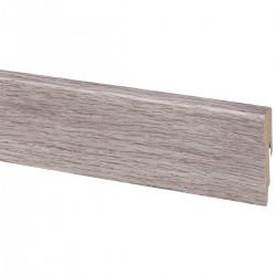 Plinthe revêtue 2m40 Chêne gris clair