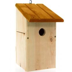 Nichoir en bois toit incliné