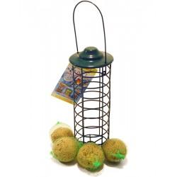 Silo à boules mésange avec 4 boules