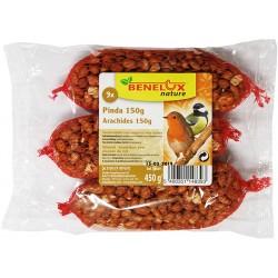 3 filets d'arachides décortiquées