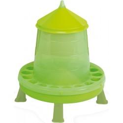 Mangeoire silo PVC pour volaille 8kg
