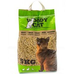 WOODY CAT Litière granulés bois 5kg