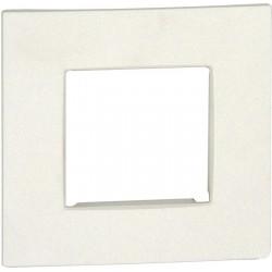 Plaque simple NIKO Intense blanc