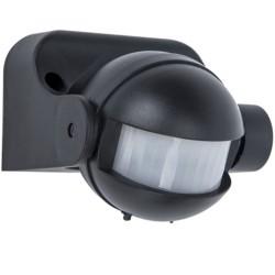 Détecteur de mouvement 180° Noir