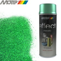 MOTIP DECO EFFECT spray vert metallique 400 ml