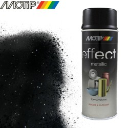 MOTIP DECO EFFECT spray noir metallique 400 ml