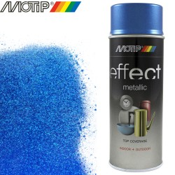 MOTIP DECO EFFECT spray bleu metallique 400 ml