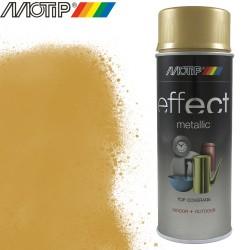 MOTIP DECO EFFECT spray or pur metallique 400 ml