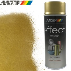 MOTIP DECO EFFECT spray or metallique brillant 400 ml