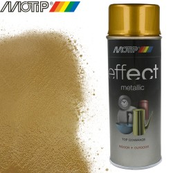 MOTIP DECO EFFECT spray or metallique 400 ml