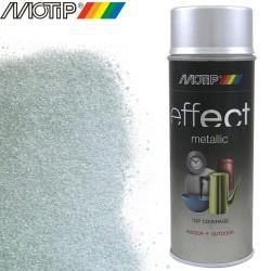 MOTIP DECO EFFECT spray effet argent paillete 400 ml