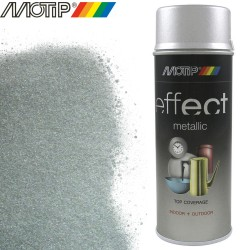 MOTIP DECO EFFECT spray argent metallique 400 ml