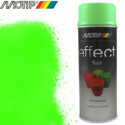 MOTIP DECO EFFECT spray vert fluo 400 ml