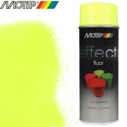 MOTIP DECO EFFECT spray jaune fluo 400 ml