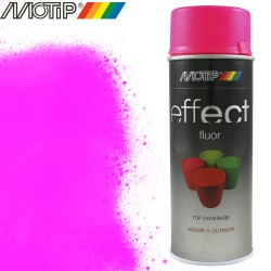 MOTIP DECO EFFECT spray rose fluo 400 ml