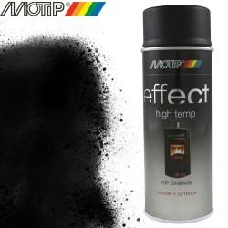 MOTIP DECO EFFECT spray noir haute temperature 400 ml