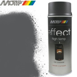 MOTIP DECO EFFECT spray anthracite haute temp. 400 ml