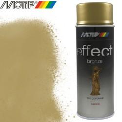 MOTIP DECO EFFECT spray or bronze mat 400 ml