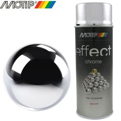 MOTIP DECO EFFECT spray chrome argent 400 ml