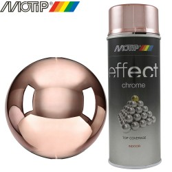 MOTIP DECO EFFECT spray chrome cuivre 400 ml