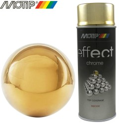 MOTIP DECO EFFECT spray chrome or 400 ml