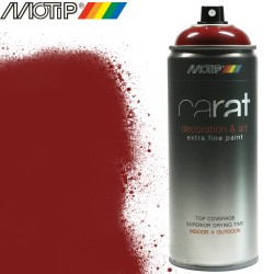 MOTIP CARAT spray rouge pourpre 400 ml