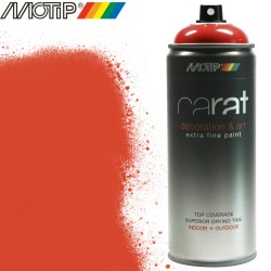 MOTIP CARAT spray rouge feu 400 ml