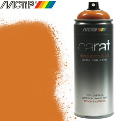 MOTIP CARAT spray orange jaune 400 ml
