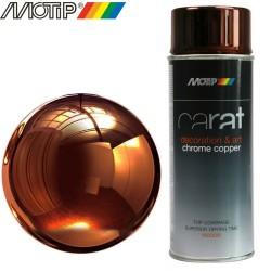 MOTIP CARAT spray effet chrome cuivre 400 ml