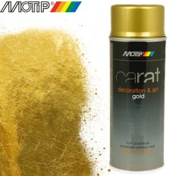 MOTIP CARAT spray effet or 400 ml