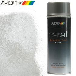 MOTIP CARAT spray effet argent 400 ml