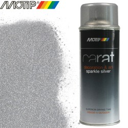 MOTIP CARAT spray argent paillette 400 ml