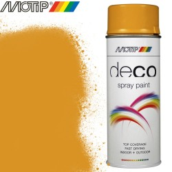 MOTIP DECO spray jaune or 400 ml