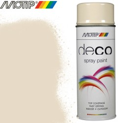 MOTIP DECO spray blanc perle 400 ml
