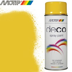 MOTIP DECO spray jaune colza 400 ml
