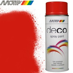 MOTIP DECO rouge orange 400 ml